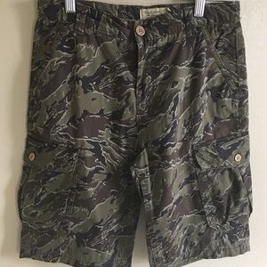 Lucky Brand Camouflage Shorts